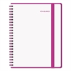 Color Play Weekly/Monthly Planner, 8 1/2 x 11, White/Purple, 2017