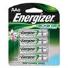 NiMH Rechargeable Batteries, AA, 8 Batteries/Pack