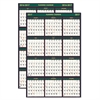 House of Doolittle Recycled 4 Seasons Reversible Business/Academic Calendar, 24 x 37, 2016-2017