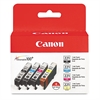 Canon 2946B004 (CLI-221) Ink, Black/Cyan/Magenta/Yellow, 4/PK