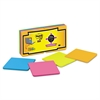 Post-it Full Adhesive Notes, 3 x 3, Assorted Rio de Janeiro Colors, 16/Pack