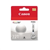 Canon 2950B001 (CLI-221) Ink, Gray