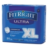 "FitRight Ultra Protective Underwear, X-Large, 56-68"" Waist, 20/Pack, 4 Pack/Ctn"