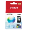 Canon 2975B001 (CL-211XL) High-Yield Ink, Tri-Color
