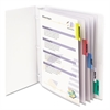 "C-Line Sheet Protectors with Index Tabs, Assorted Color Tabs, 2"", 11 x 8 1/2, 5/ST"