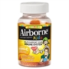 Airborne Kids Immune Support Gummies, Assorted Fruit Flavors, 21 Count