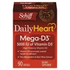 Schiff Mega Vitamin D3 Softgel, 90 Count