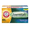 Arm & Hammer Essentials Dryer Sheets, Mountain Rain, 144 Sheets/Box