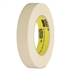 "232 High-Performance Masking Tape, 24mm x 55m, 3"" Core, Tan"