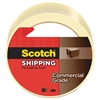 "Scotch 3750 Commercial Grade Packaging Tape, 1.88"" x 54.6yds, 3"" Core, Clear"