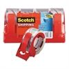 "Scotch 3850 Heavy-Duty Packaging Tape, 1.88"" x 54.6yds, 3"" Core, Clear, 4/Pack"