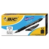 BIC Gel-ocity Retractable Gel Pen, Black Ink, .7mm, Medium, Dozen