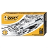 BIC Clic Stic Retractable Ballpoint Pen, Black, 1mm, Medium, 24/Pack