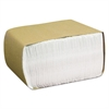 Cascades North River Perky Dispenser Napkins, 1-Ply, 3 1/2 x 5, White, 400/Pk, 8000/Crtn