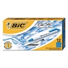BIC Clic Stic Retractable Ballpoint Pen, Blue Ink, 1mm, Medium, Dozen