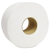 "Cascades Decor Jumbo Roll Jr. Tissue, 1-Ply, White, 3 1/2"" x 1500', 12 Rolls/Carton"