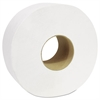 "Cascades Decor Jumbo Roll Jr. Tissue, 2-Ply, White, 3 1/2"" x 750', 12 Rolls/Carton"