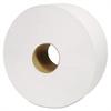 "Cascades North River Jumbo Roll Tissue, 1-Ply, White, 3 1/2"" x 3500', 6 Rolls/Carton"