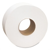 "Cascades North River Jumbo Roll Tissue, 1-Ply, White, 3 1/2"" x 2000', 12 Rolls/Carton"
