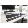 "Gel Wrist Rest for Keyboards, 19""x 2"" x 3/4"", Solid Color"