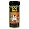 Goo Gone Tough Task Wipes, 8 x 7, Citrus Scent, White, 24/Canister, 4 Canister/Carton