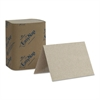 "Georgia Pacific Professional EasyNap Embossed Dispenser Napkins One-Ply, 6 1/2"" x 9 7/8"", Brown, 6000/Carton"