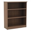 Alera Alera Valencia Series Bookcase, Three-Shelf, 31 3/4w x 14d x 39 3/8h, Mod Walnut