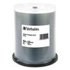 Verbatim CD-R, 700MB, 52X, White Inkjet Printable, 100/PK Spindle