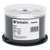 Verbatim DataLifePlus DVD-R, 4.7GB, 8X, Shiny Silver Silk Screen Printable, 50/PK Spindle