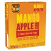 Pressed by Bars, Mango Apple Chia, 1.2 oz Bar, 12/Box