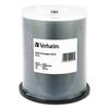 Verbatim CD-R, 700MB, 52X, Silver Inkjet Printable, 100/PK Spindle