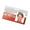 Laminating Pouches, 5mil, 3 7/8 x 2 5/8, ID Size, 25/Pack