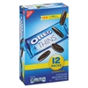 Oreo Cookies Single Serve Packs, Chocolate, 1.02 oz Pack, 12/Box