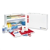 First Aid Only ANSI Compliant Class B+Type I & II Industrial First Aid Kit/75 People,437 Pieces