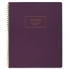 Fashion Twinwire Business Notebook, 11 x 9, Purple. 80 Sheets
