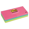 Post-it Original Pads in Cape Town Colors, 3 x 3, Lined, 100-Sheet, 6/Pack