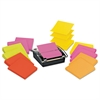 Post-it Pop-up Dispenser Value Pack, 3 x 3, Black/Clear