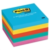 Post-it Original Pads in Jaipur Colors, 3 x 3, 100-Sheet, 5/Pack