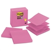Post-it Pop-up Notes Refill, Lined, 4 x 4, Mulberry, 90-Sheet, 5/Pack