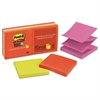 Post-it Pop-up 3 x 3 Note Refill, Marrakesh, 90-Sheet, 6/Pack