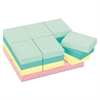 Original Pads in Marseille Colors, Value Pack, 1 1/2 x 2, 100-Sheet, 24/Pack