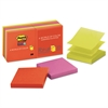 Post-it Pop-up 3 x 3 Note Refill, Marrakesh, 90-Sheet, 10/Pack