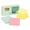 Post-it Original Pop-up Refill, 3 x 3, Assorted Marseille Colors, 100-Sheet, 6/Pack