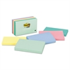 Post-it Original Pads in Marseille Colors, 3 x 5, 100-Sheet, 5/Pack