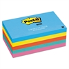 Post-it Original Pads in Jaipur Colors, 3 x 5, 100-Sheet, 5/Pack