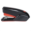 Swingline QuickTouch Reduced Effort Compact Stapler, 20-Sheet Capacity, Black/Red