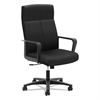 VL604 Series High-Back Executive Chair, Black Fabric