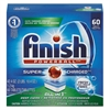 FINISH Powerball Dishwasher Tabs, Fresh Scent, 60 Tabs/Box, 4 Boxes/Carton