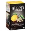 Bigelow steep Tea, Chamomile Citrus Herbal, 1 oz Tea Bag, 20/Box