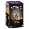 Bigelow steep Tea, Earl Grey, 1.28 oz Tea Bag, 20/Box